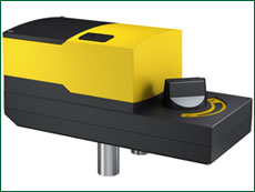 ADM 322: Rotary actuator, ADM 322S: Rotary actuator with positioner