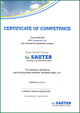 CERTIFICATE OF COMPETENCE This certifies that NPO